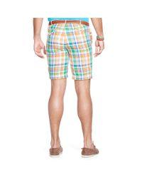 Ralph Lauren | Blue Classic-fit Linen Madras Short for Men | Lyst