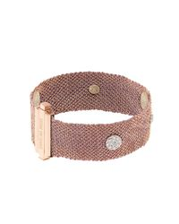 Carolina Bucci | Pink Diamond, Silk & Rose-Gold Bracelet | Lyst
