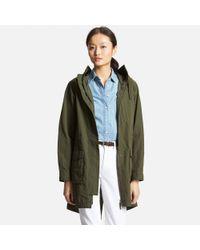 Uniqlo - Natural Women's Military Coat - Lyst