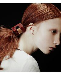 Colette Malouf | Black Haircalf Maneframe Pony | Lyst