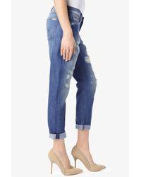 Hudson Jeans - Blue Jude Slouch Skinny Crop - Lyst