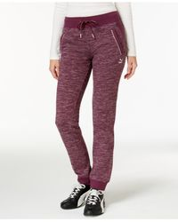 PUMA | Purple Space-dyed Pants | Lyst