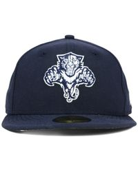 KTZ | Blue Florida Panthers C-dub 59fifty Cap for Men | Lyst