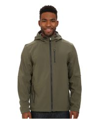 Spyder | Green Patsch Soft Shell Jacket for Men | Lyst