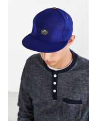 Penfield - Blue Sandown Strapback Hat for Men - Lyst