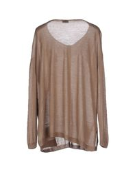 Snobby Sheep - Natural Cardigan - Lyst