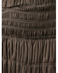 Isabel Marant - Brown Pleated Skirt - Lyst