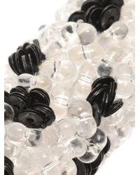 Balenciaga | Black Raindrop Bead-Embellished Choker | Lyst