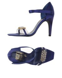 Pedro Garcia | Blue Sandals | Lyst