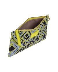 Pinko - Yellow Handbag - Lyst