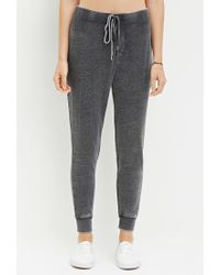 Forever 21 | Gray Faded Drawstring Sweatpants | Lyst