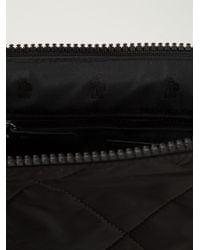 Moncler - Black Quilted Pochette for Men - Lyst