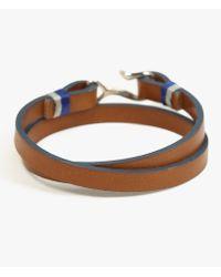 Miansai | Black Foksol Silver Bracelet | Lyst
