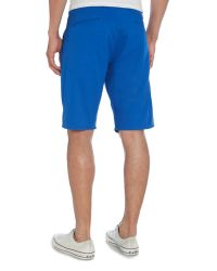 Dockers - Blue Alpha Twill Short Regular Length Shorts for Men - Lyst