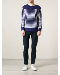 A.P.C. - Blue Coalth Tshirt for Men - Lyst