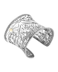 John Hardy - Metallic Classic Chain Heritage Limited Edition Macan Cuff - Lyst