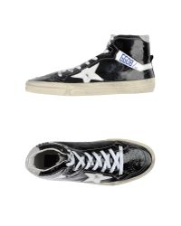 Golden Goose Deluxe Brand | Black High-tops & Trainers for Men | Lyst