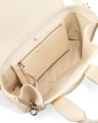 3.1 Phillip Lim - White Pashli Mini Leather Satchel - Lyst