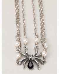Tom Binns | Metallic Spider Necklace | Lyst