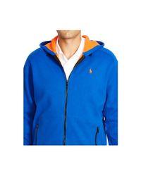 Polo Ralph Lauren   Blue Big & Tall Fleece Full-zip Hoodie for Men   Lyst