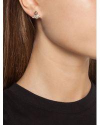 Vivienne Westwood - White 'grace Bas Relief' Stud Earrings - Lyst