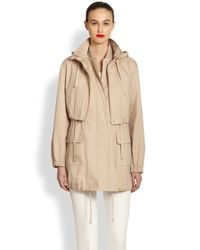 Akris Punto - Natural 2in1 Parka - Lyst