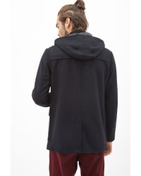Forever 21 | Black Classic Toggle Coat for Men | Lyst