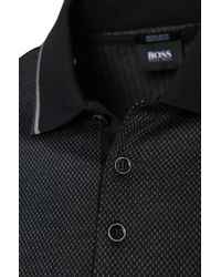 BOSS Black 'aielli' | Regular Fit, Mercerized Cotton Polo for men