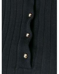 Stella McCartney | Black Refined Ribs Turtleneck Sweater | Lyst
