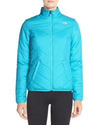 The North Face | Blue 'rika' Jacket | Lyst