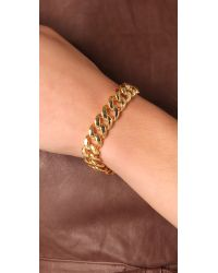 Marc By Marc Jacobs - Metallic Turnlock Small Katie Bracelet - Lyst