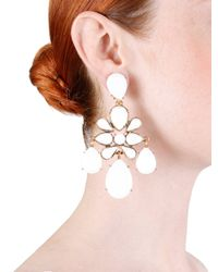 Oscar de la Renta - Natural Iconic Chandelier Earring - Lyst