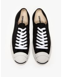 Converse - Jack Purcell Jack Canvas Black for Men - Lyst