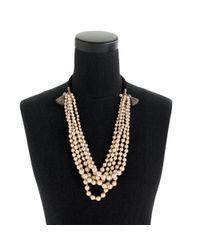 J.Crew - White Pearl Tassel Necklace - Lyst