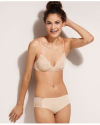BCBGeneration - Natural Suzanna True Love Triangle Bra Bc13H302 - Lyst