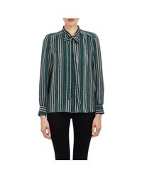 Sea | Green Tie-neck Blouse | Lyst