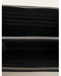 KENZO | Black Zip Around Wallet | Lyst