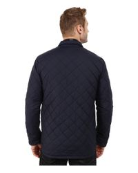 Penfield | Blue Courtland Quilted Shirt Jacket for Men | Lyst