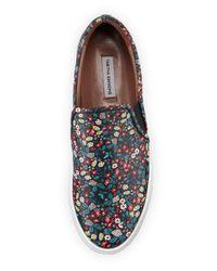 Tabitha Simmons - Multicolor Huntington Floral-print Slip-on Sneaker - Lyst