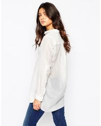 BOSS Orange   Ejey Classic Shirt In White   Lyst