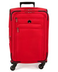 Delsey | Red Helium Sky 2.0 4-wheel Carry-on Spinner Trolley Bag | Lyst