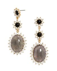 BaubleBar | Gray Turtle Dove Drops | Lyst