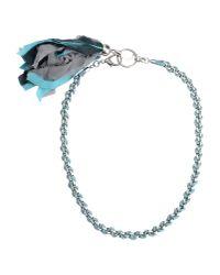 Liu Jo - Blue Necklace - Lyst