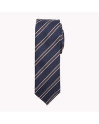 Tommy Hilfiger   Blue Wool Blend Tailored Tie for Men   Lyst