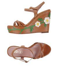 Red(v) - Brown Sandals - Lyst