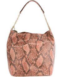Stella McCartney | Multicolor Snake Skin Print Hobo Bag | Lyst