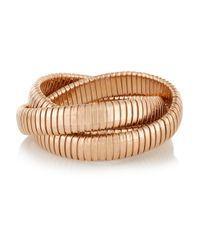 Sidney Garber | Metallic Rolling 18-Karat Rose Gold Interlinked Bracelet | Lyst