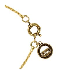 Giles & Brother | Metallic Gold-Tone Beaded Necklace | Lyst