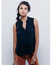 Free People | Black Womens Pixie Stick Tank | Lyst