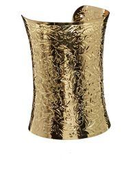 ASOS | Metallic Filigree Cuff Bracelet | Lyst